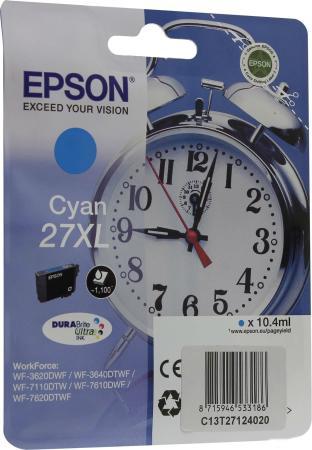 Фото - Картридж Epson TK-540C для Epson WorkForce WF-3620 1100стр Голубой мфу epson workforce pro wf c5790dwf белый серый