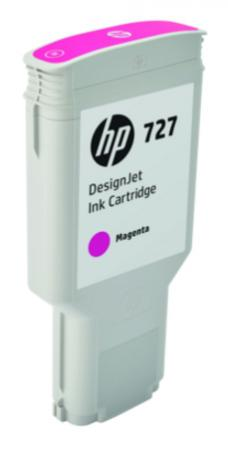 Картридж HP 727 F9J77A для DJ T920/T930/T1500/T1530/T2500/T2530 пурпурный hp 727 printhead b3p06a