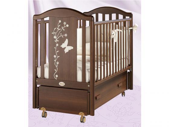Кроватка с маятником Feretti Privilege Swing (noce) кровать с маятником mibb tender noce antico swing walnut темный орех li003rna