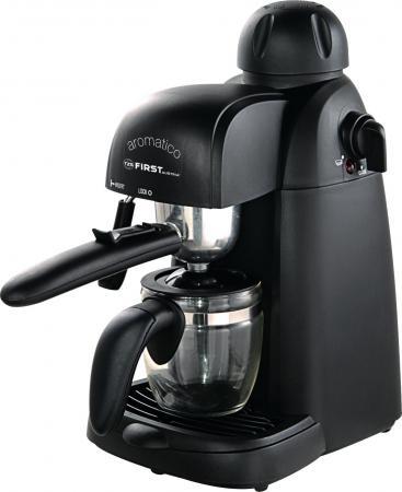 цена Кофеварка First Espresso FA-5475 800 Вт черный онлайн в 2017 году