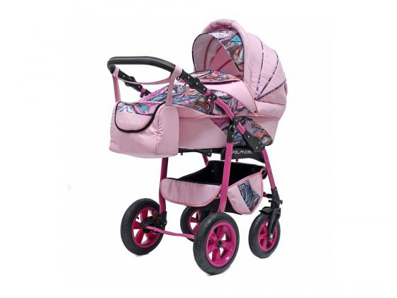 Коляска 2-в-1 Polmobil Astra Fashion Collection (marmur02/розовый)