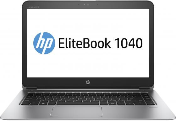 Ноутбук HP EliteBook Folio 1040 G3 14 1920x1080 Intel Core i5-6200U 256 Gb 8Gb 4G LTE Intel HD Graphics 520 серебристый Windows 7 Professional + Windows 10 Professional V1A83EA