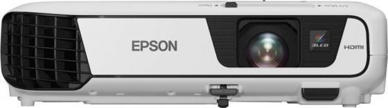 Проектор Epson EB-S31 800x600 3200 люмен 15000:1 белый V11H719040 проектор epson eb s31 v11h719040