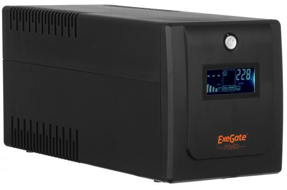 все цены на ИБП Exegate ULB-1500 LCD 900Вт 1500ВА черный EP212520RUS онлайн