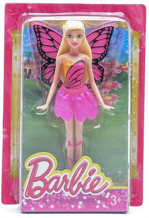 Кукла Barbie Fairytale Checklane Asst Dolls, Балерина 10 см V7050 barbie сказочная балерина barbie