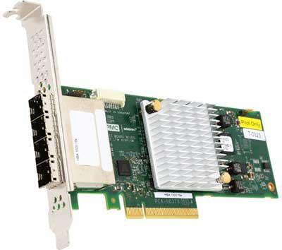 Контроллер Adaptec 1000-16e HBA 2288200-R контроллер adaptec 1000 8i hba 2288300 r