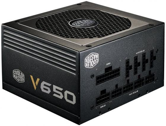 Фото - Блок питания ATX 650 Вт Cooler Master V650 RS650-AFBAG1-EU блок питания accord atx 1000w gold acc 1000w 80g 80 gold 24 8 4 4pin apfc 140mm fan 7xsata rtl