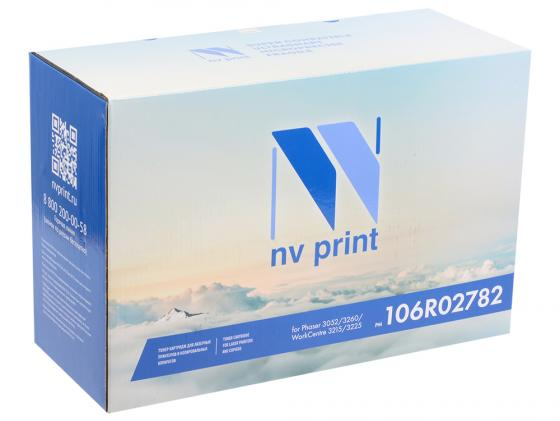 Картридж NV-Print 106R02782 для Xerox Phaser 3052/3260/WC 3215/3225 черный 6000стр nv print 106r01632m magenta тонер картридж для xerox phaser 6000 6010