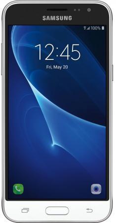 Смартфон Samsung Galaxy J3 2016 белый 5 8 Гб LTE Wi-Fi GPS 3G DUOS SM-J320FZWDSER смартфон alcatel u5 hd 5047d белый 5 8 гб lte wi fi gps 3g