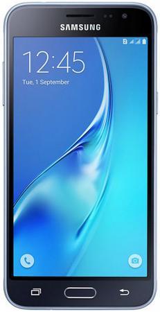 Смартфон Samsung Galaxy J3 2016 черный 5 8 Гб LTE Wi-Fi GPS 3G SM-J320FZKDSER DUOS samsung gt c5212 duos