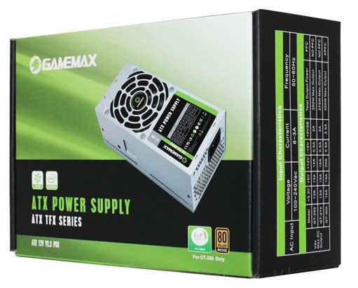 Блок питания TFX 300 Вт GameMax GT-300 цена и фото