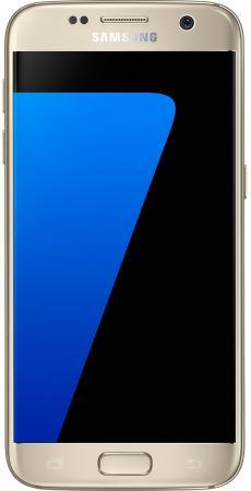 "все цены на  Смартфон Samsung Galaxy S7 золотистый 5.1"" 32 Гб NFC LTE Wi-Fi GPS 3G SM-G930FZDUSER Gold Platinum  онлайн"