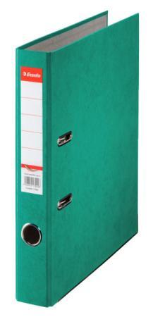 Папка-регистратор Esselte Rainbow А4 50мм картон зеленый 17922 папка регистратор esselte economy 10782p a4 75мм желтый