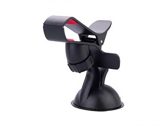 Автомобильный держатель Wiiix HT-S3Sgl черный автомобильный держатель wiiix ht 11v черный