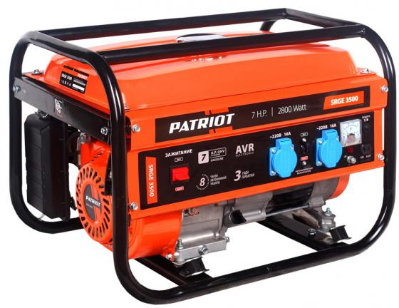 Генератор Patriot Max Power SRGE 3500 генератор patriot power srge 7500e