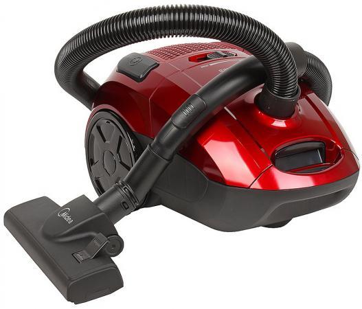 Пылесос Midea VCB43B1 с мешком сухая уборка 1600Вт красный пылесос аккумуляторный midea vss 01 b 160 p