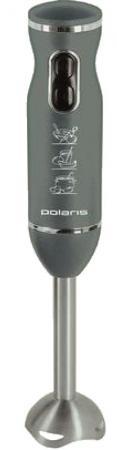 Блендер погружной Polaris PHB 0641 650Вт серый блендер polaris phb0510a погружной серебристый черный