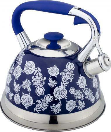 Чайник Bekker Premium BK-S588 2.7 л нержавеющая сталь рисунок синий bekker premium bk 1577