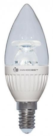 Лампа светодиодная свеча Наносвет Crystal E14 6.5W 2700K L212