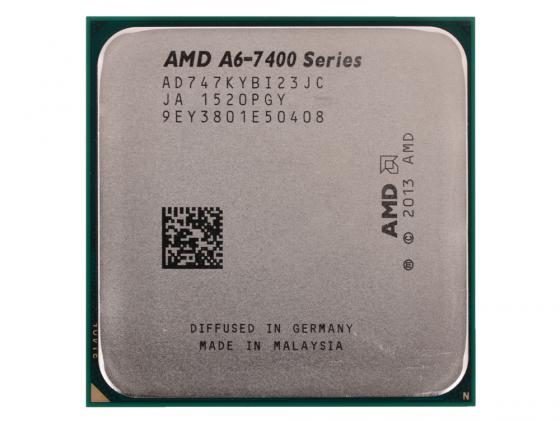 Процессор AMD A6 7470-K 3.7GHz AD747KYBI23JC Socket FM2+ OEM процессор amd a4 5300 ad5300oka23hj socket fm2 oem