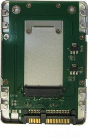 Переходник для SSD Espada ES-008 HD2590 2.5 SATA-mSATA 2 5 msata to sata ssd adapter card blue black