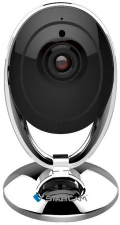 Камера IP VStarcam C7893WIP CMOS 1/4 1280 x 720 H.264 MJPEG Wi-Fi черный серебристый vstarcam c7850ip 720p p2p waterproof ip camera night vision onvif ir cut ddns for free h 264 bullet ip camera
