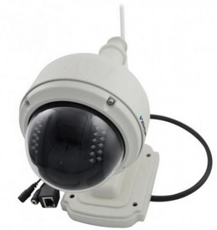 Камера IP VStarcam C7833WIP CMOS 1/4 1280 x 720 H.264 RJ-45 LAN Wi-Fi белый eye sight es ip615iw p2p 1 4 cmos 0 3mp surveillance wi fi ip camera w 24 ir led silver