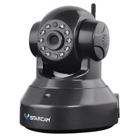 Камера IP VStarcam C9837WIP CMOS 1/3'' 1280 x 960 H.264 RJ-45 LAN Wi-Fi черный камера ip vstarcam c7815wip cmos 1 4 1280 x 720 h 264 rj 45 lan wi fi белый