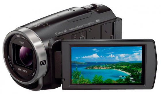 Цифровая видеокамера Sony HDR-CX625B 9.2Mpx 30xzoom 3'' черный цифровая видеокамера sony hdr cx 405