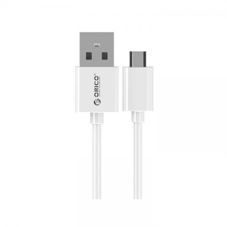 Кабель USB 2.0 AM-microUSB2.0 0.5м Orico ADC-05 белый кабель orico orico cer3 10 белый