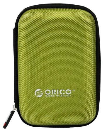 Чехол для HDD 2.5 Orico PHD-25-GR зеленый чехол для жесткого диска 2 5 orico phd 25 красный