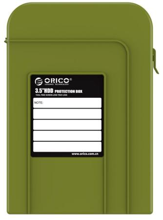 Чехол для HDD 3.5 Orico PHI-35-SN зеленый orico phi 35 3 5 hdd protector storage bag hdd protection case purple