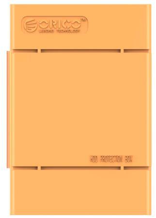"Чехол для HDD 3.5"" Orico PHP-35-OR оранжевый цена и фото"