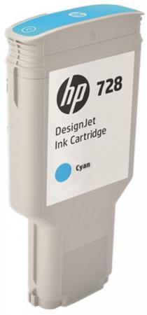Картридж HP 728 F9K17A для DJ T730 голубой картридж hp 728 f9k17a для dj t730 голубой