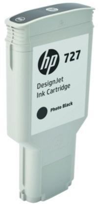 Картридж HP 727 F9J79A для DJ T920/T1500/2500/930/1530/2530 черный фото картридж hp cz101ae 650 black для dj ia 2515