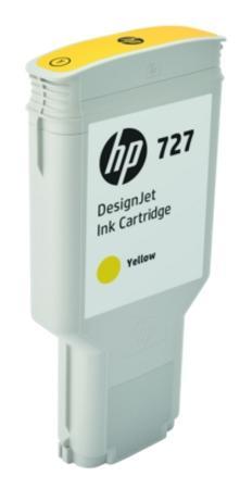 Картридж HP 727 F9J78A для DJ T920/T1500/2500/930/1530/2530 желтый картридж hp 727 желтый [b3p21a]