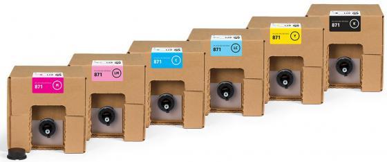 Картридж HP 871 G0Y85A для HP Latex 370 картридж hp pigment ink cartridge 70 black z2100 3100 3200 c9449a