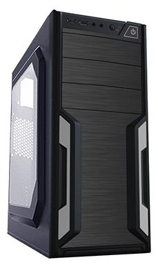 Корпус ATX PowerCool S2008BK 500 Вт чёрный цена