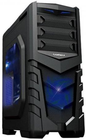 Корпус ATX GameMax G530 Без БП чёрный процессор intel celeron g530 g530 cpu 2 4g