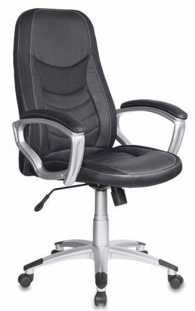 Кресло Бюрократ T-9910/Black искусственная кожа черный бюрократ gd 010 black