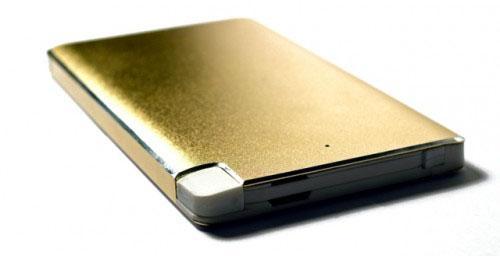 Портативное зарядное устройство KS-is KS-277 6000мАч microUSB золотистый внешний аккумулятор ks is power ks 277 6000 мач черный