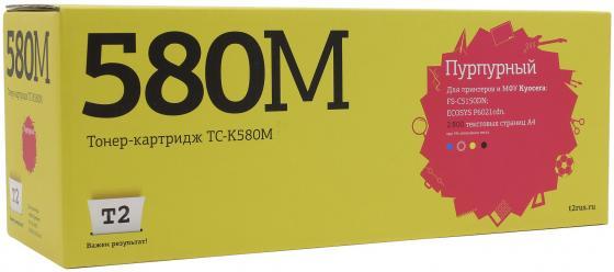 Картридж T2 TC-K580M для Kyocera FS-C5150DN/ECOSYS P6021cdn пурпурный 2800стр kyocera ecosys p6021cdn