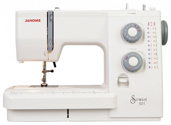 цена Швейная машина Janome 521 белый