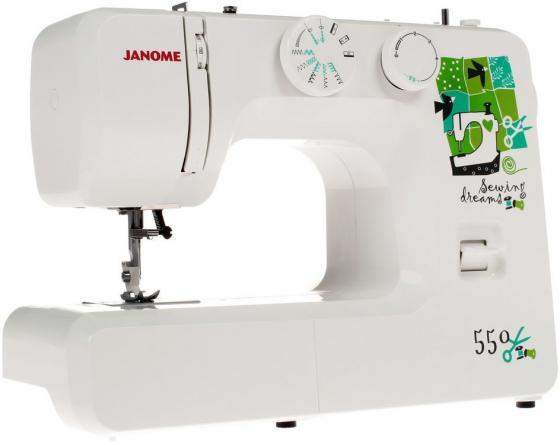 Швейная машина Janome 550 белый швейная машинка janome sew mini deluxe