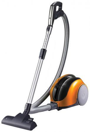 Пылесос LG V-K74W25H без мешка сухая уборка 1250Вт оранжевый пылесос lg v k76w02hy