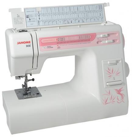 Швейная машина Janome 90E белый швейная машинка janome sew mini deluxe
