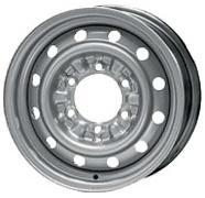 Диск KFZ 9950 6xR15 6x139.7 мм ET33 Серебристый литой диск replica legeartis a52 6 5x16 5x112 d57 1 et33 s