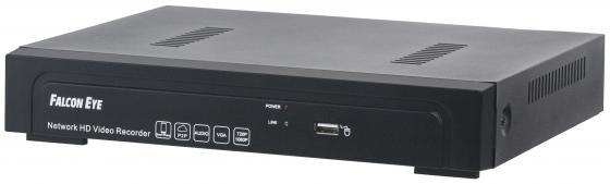 Видеорегистратор сетевой Falcon Eye FE-NR-5104 POE USB VGA HDMI RJ-45 PoE до 4 каналов as as 5104