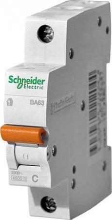 Автоматический выключатель Schneider Electric ВА63 1П 40A C 11207 автоматический выключатель schneider electric ва63 1п н 25a c 11215