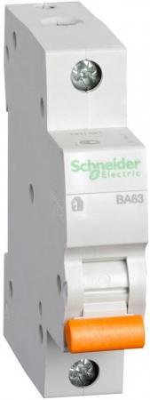 Автоматический выключатель Schneider Electric ВА63 1П 6A C 11201